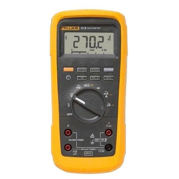 フルーク FLUKE-27II デジタルマルチメーター 防水・防塵マルチメーター