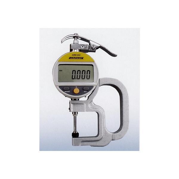 尾崎製作所 デジタルシックネスゲージ G2N-255M 測定範囲0〜20mm 0.001mm ピーコック