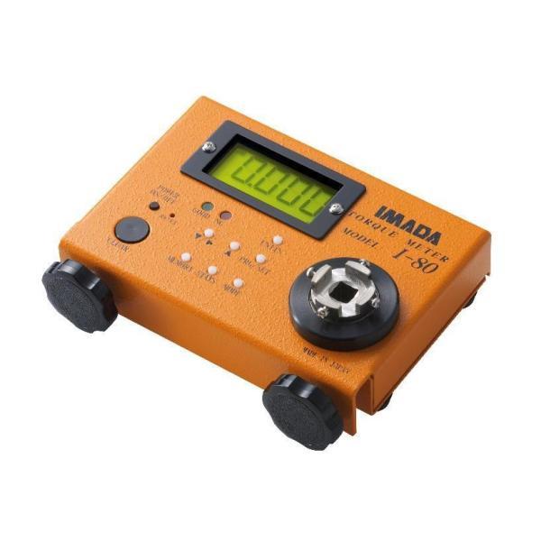 イマダ I-80 デジタルトルクゲージ 電動トルクドライバー用トルクメーター IMADA