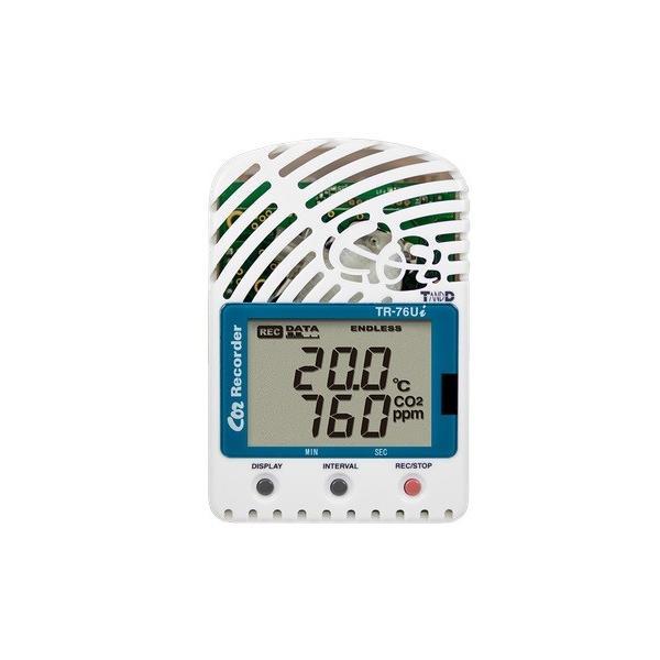 T&D TR-76Ui-S おんどとり CO2・温度・湿度データロガー ティーアンドディー