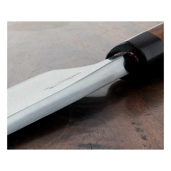 業務用出刃包丁 越前打刃物 総磨き7.5寸出刃包丁 送料無料|e-hamono|03