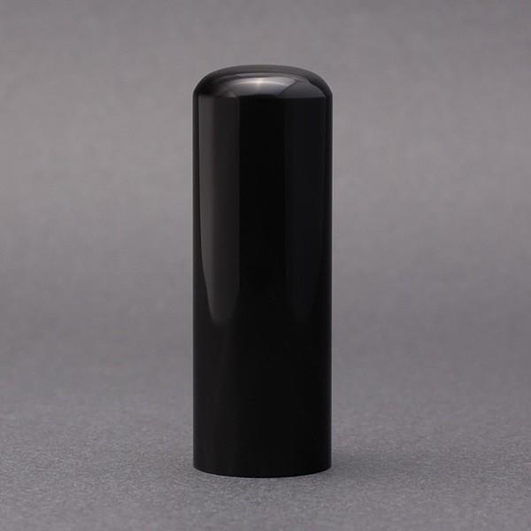 印鑑/実印/黒水牛/21mm/ケース別売/熟練職人の手彫り仕上げ