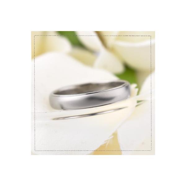 チタンリング 結婚指輪 純チタン 純チタン マリッジリング プラチナイオンプレーティング 単品|e-housekiya|02