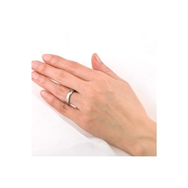チタンリング 結婚指輪 純チタン 純チタン マリッジリング プラチナイオンプレーティング 単品|e-housekiya|03