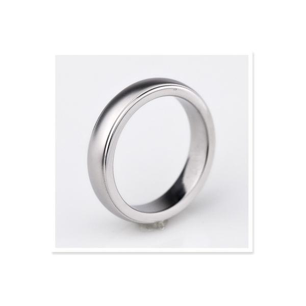 チタンリング 結婚指輪 純チタン 純チタン マリッジリング プラチナイオンプレーティング 単品|e-housekiya|04