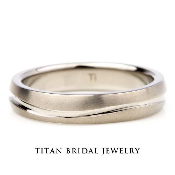 チタンリング 結婚指輪 純チタン マリッジリング 単品|e-housekiya|02
