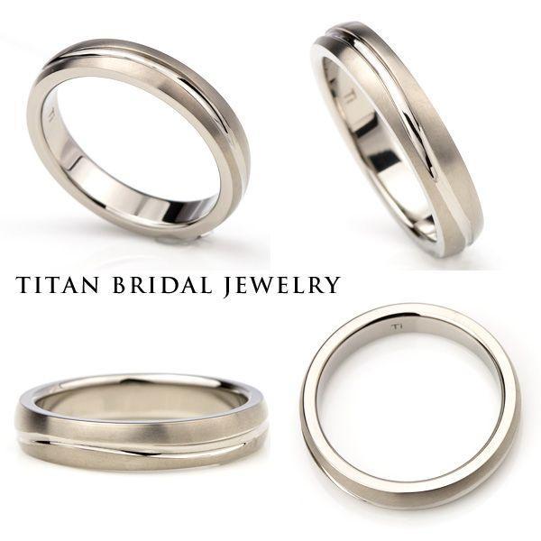チタンリング 結婚指輪 純チタン マリッジリング 単品|e-housekiya|03
