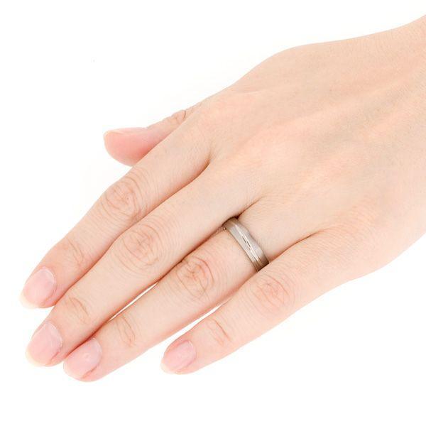 チタンリング 結婚指輪 純チタン マリッジリング 単品|e-housekiya|04