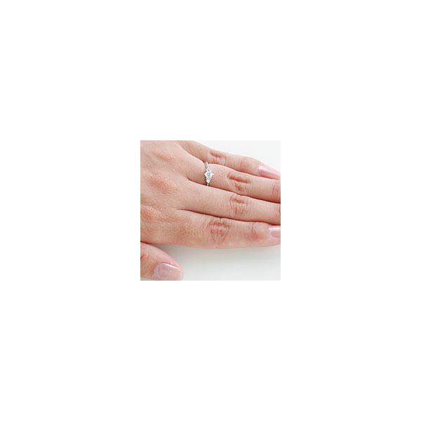 (プラチナ ダイヤモンドリング)婚約指輪 シチズン セントピュール エンゲージリング Excellent [クラリティー] VVS1 [カラー] D [カラット] 0.37 大粒