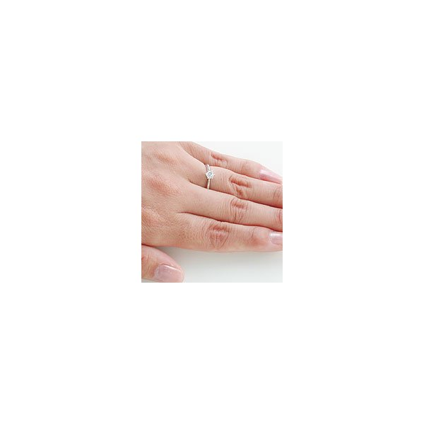(プラチナ ダイヤモンド 立爪 指輪)婚約指輪 シチズン セントピュール エンゲージリング 大粒|e-housekiya|05