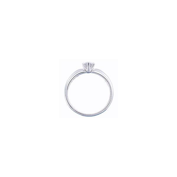 (プラチナ ダイヤモンド 立爪 指輪)婚約指輪 シチズン セントピュール エンゲージリング 大粒