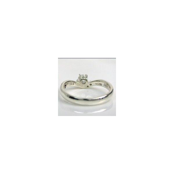 婚約指輪 シチズン ブランド セントピュールダイヤモンドブライダルリング エンゲージリング 大粒