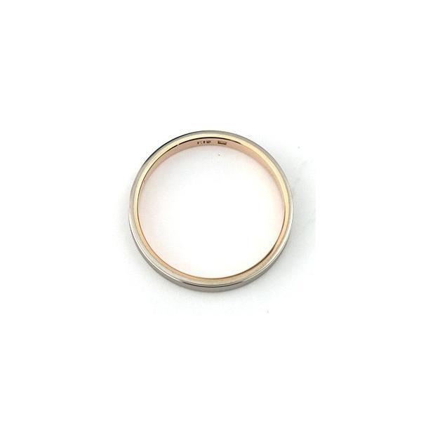 結婚指輪 マリッジリング 18金ピンクゴールド/18金ホワイトゴールド ペアリング|e-housekiya|03
