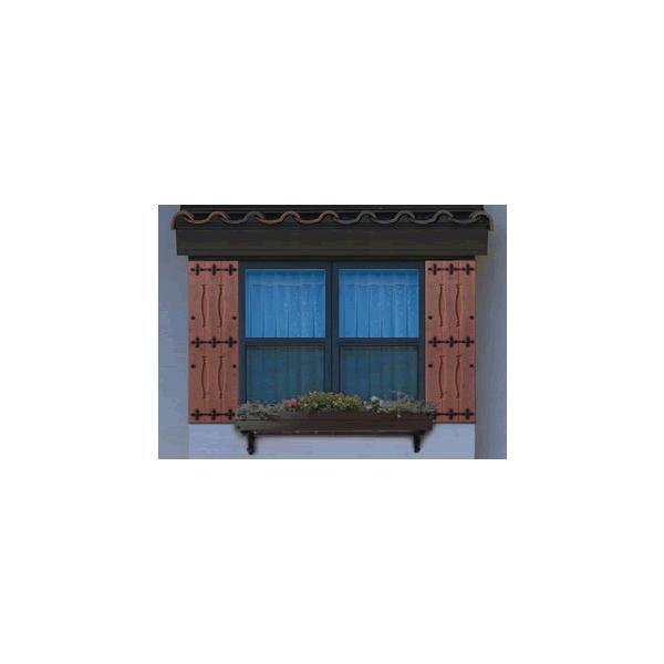 フラワーボックス 壁飾り アルミ製 フラワーボックスウインボッシュ (6尺・ブラウン) 壁飾り  窓手すり  エクステリア 防犯|e-housemania|02
