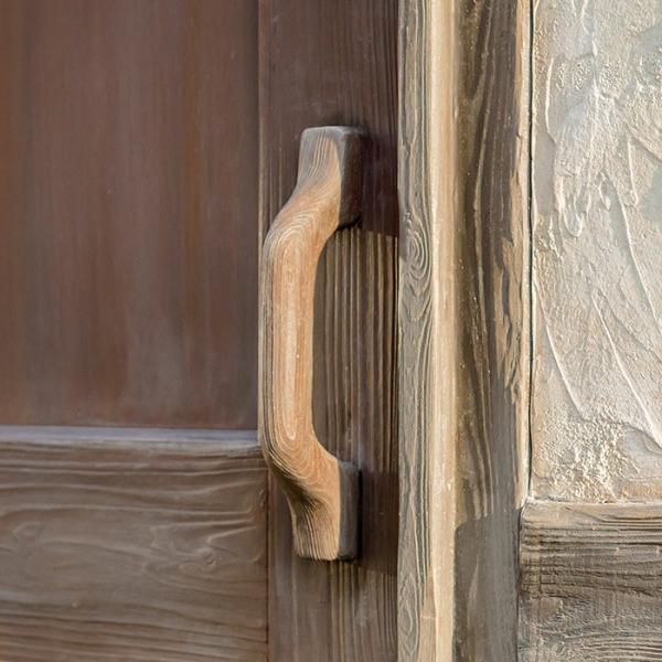 物置 屋外専用 ガーデン物置 Cots knob FRP製ドア取っ手タイプ 組立式 物置小屋 クラシカル おしゃれ 【代引き不可】|e-housemania|02