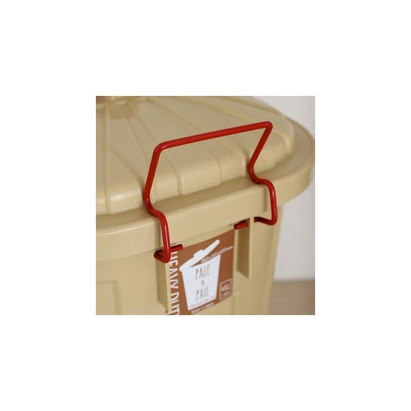 ゴミ箱 ごみ箱 バケツ ふた付き PALE×PAIL 容量42から60リットル おしゃれ ブルーグレー/ブラウン/ベージュ/ホワイト e-housemania 02