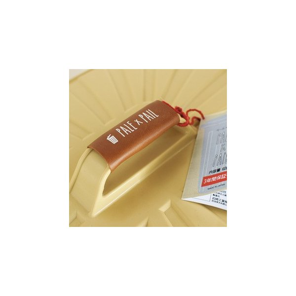 ゴミ箱 ごみ箱 バケツ ふた付き PALE×PAIL 容量42から60リットル おしゃれ ブルーグレー/ブラウン/ベージュ/ホワイト e-housemania 03