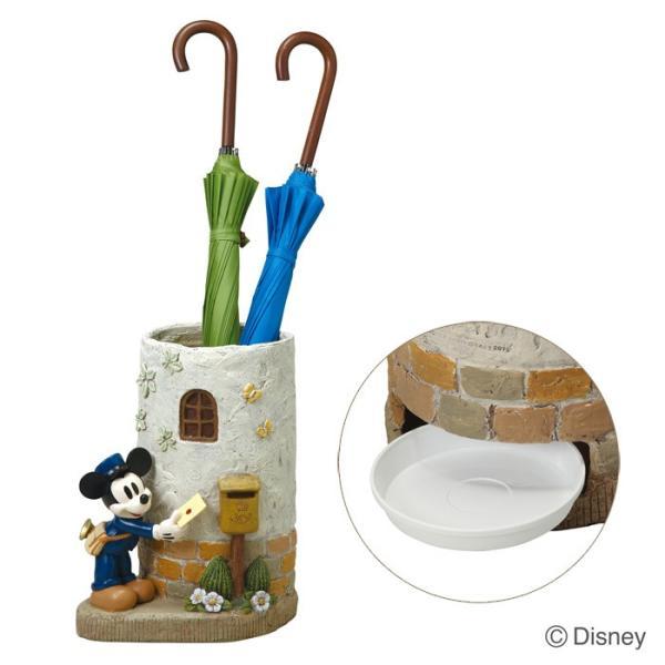 傘立て かさ立て ディズニー ポストマンミッキー  受け皿付き  ガーデンニング雑貨|e-housemania|02