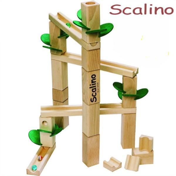 【知育玩具】あなたもきっとハマる……あの「ピタゴラスイッチ」の世界を積み木で再現!