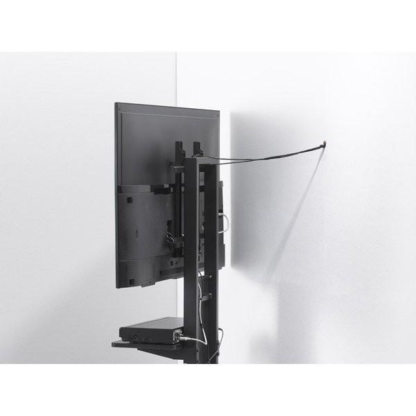 棚板付き コーナーテレビ台 32-55V型 テレビスタンド 壁よせ 壁掛けテレビ台 おしゃれ ロータイプ|e-jimuyouhin|11