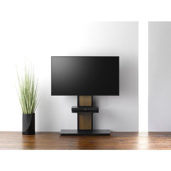 棚板付き コーナーテレビ台 32-55V型 テレビスタンド 壁よせ 壁掛けテレビ台 おしゃれ ロータイプ|e-jimuyouhin|03