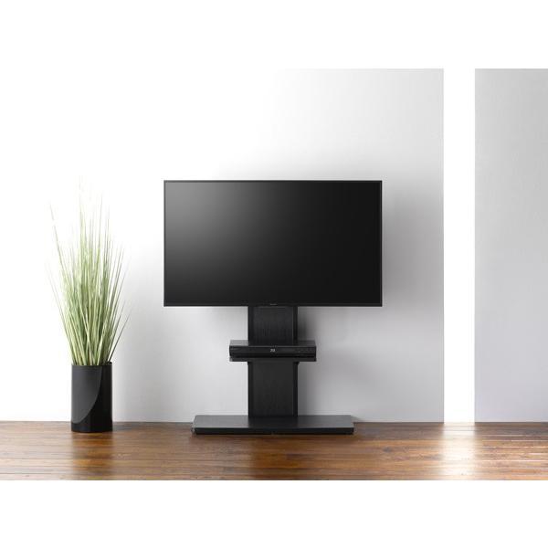棚板付き コーナーテレビ台 32-55V型 テレビスタンド 壁よせ 壁掛けテレビ台 おしゃれ ロータイプ|e-jimuyouhin|04