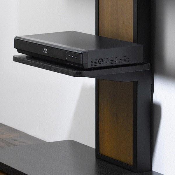 棚板付き コーナーテレビ台 32-55V型 テレビスタンド 壁よせ 壁掛けテレビ台 おしゃれ ロータイプ|e-jimuyouhin|08