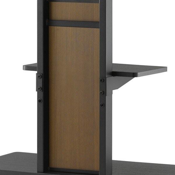 棚板付き コーナーテレビ台 32-55V型 テレビスタンド 壁よせ 壁掛けテレビ台 おしゃれ ロータイプ|e-jimuyouhin|09