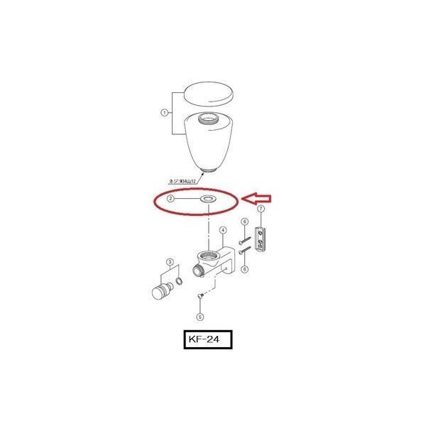 水石けん入れ用容器下パッキン 50-240(1P) LIXIL|e-jyu-setu|02
