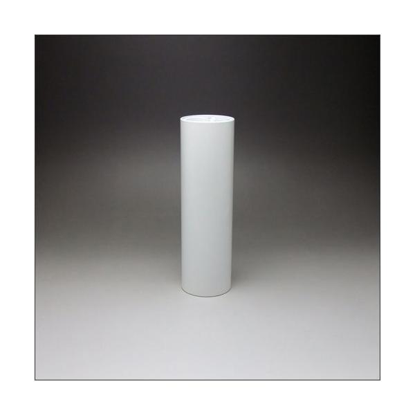 テーブル脚 DSPポール脚 100mm径 x 高さ750mm 白塗装仕上 (※天板受座、アジャスターは別売です)