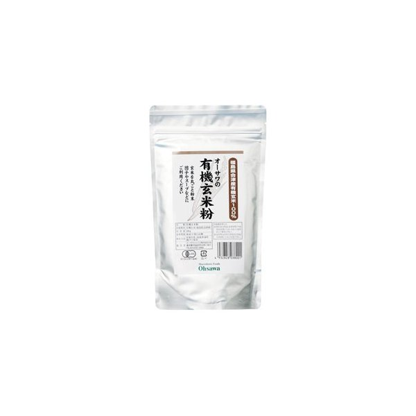 オーサワの有機玄米粉 300g|オーサワジャパン /取寄せ