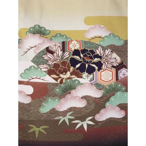 七五三 5歳 男の子 七五三 着物 5歳 753 男 着物 往復送料無料 フルセットレンタル 簡単着付けマニュアル付| 花うさぎブランド 着物(金茶系)| E-5-019|e-kimono-rental|05