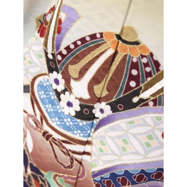 七五三 5歳 男の子 七五三 着物 5歳 753 男 着物 往復送料無料 フルセットレンタル 簡単着付けマニュアル付| 花うさぎブランド 着物(金茶系)| E-5-019|e-kimono-rental|06