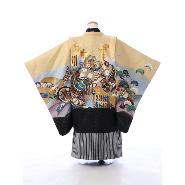 七五三 5歳 男の子 七五三 着物 5歳 753 男 着物 往復送料無料 フルセットレンタル 簡単着付けマニュアル付| E-5-954      貸衣装   袴|e-kimono-rental|03