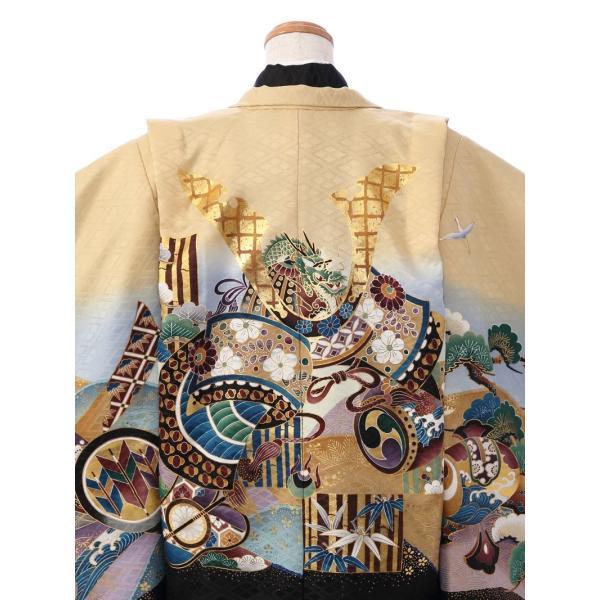 七五三 5歳 男の子 七五三 着物 5歳 753 男 着物 往復送料無料 フルセットレンタル 簡単着付けマニュアル付| E-5-954      貸衣装   袴|e-kimono-rental|04