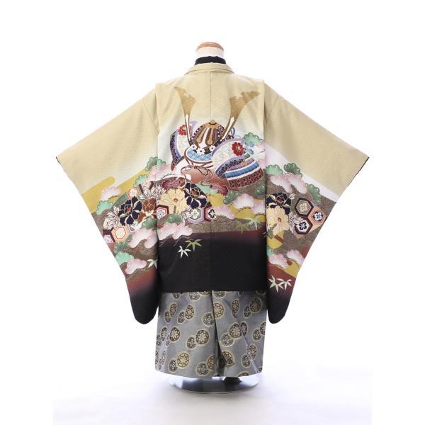七五三 5歳 男の子 七五三 着物 5歳 753 男 着物 往復送料無料 フルセットレンタル 簡単着付けマニュアル付  E-5-962      貸衣装   袴 e-kimono-rental 02