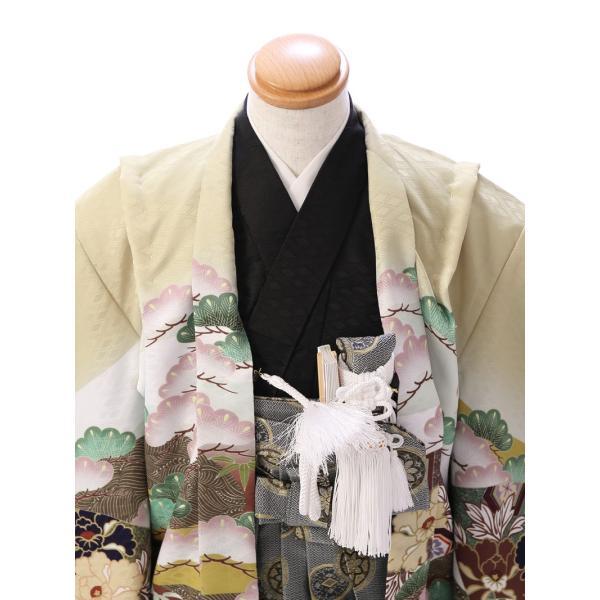七五三 5歳 男の子 七五三 着物 5歳 753 男 着物 往復送料無料 フルセットレンタル 簡単着付けマニュアル付  E-5-962      貸衣装   袴 e-kimono-rental 03