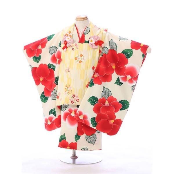 七五三 着物 3歳 753 着物 3歳 七五三 3歳 七五三 着物 753 着物|  E-H-432 花わらべ   着物   被布     女の子  被布セット 【レンタル】|e-kimono-rental