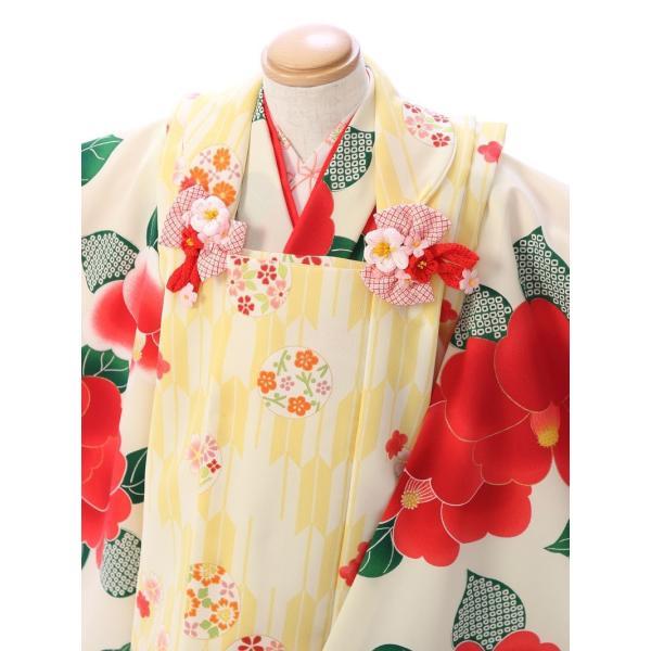 七五三 着物 3歳 753 着物 3歳 七五三 3歳 七五三 着物 753 着物|  E-H-432 花わらべ   着物   被布     女の子  被布セット 【レンタル】|e-kimono-rental|02