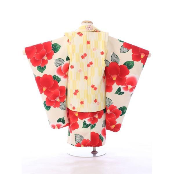 七五三 着物 3歳 753 着物 3歳 七五三 3歳 七五三 着物 753 着物|  E-H-432 花わらべ   着物   被布     女の子  被布セット 【レンタル】|e-kimono-rental|03
