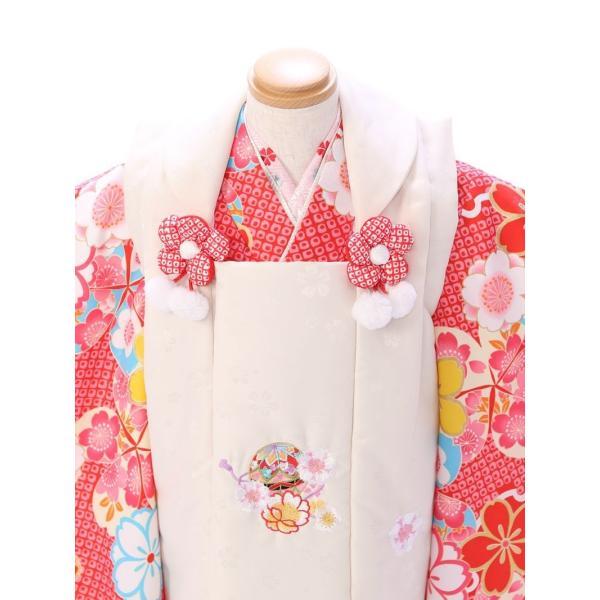 七五三 着物 3歳 753 着物 3歳 七五三 3歳 七五三 着物 753 着物|  E-H-442  着物   被布     女の子    被布セット 【レンタル】|e-kimono-rental|02
