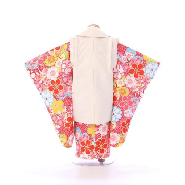 七五三 着物 3歳 753 着物 3歳 七五三 3歳 七五三 着物 753 着物|  E-H-442  着物   被布     女の子    被布セット 【レンタル】|e-kimono-rental|03