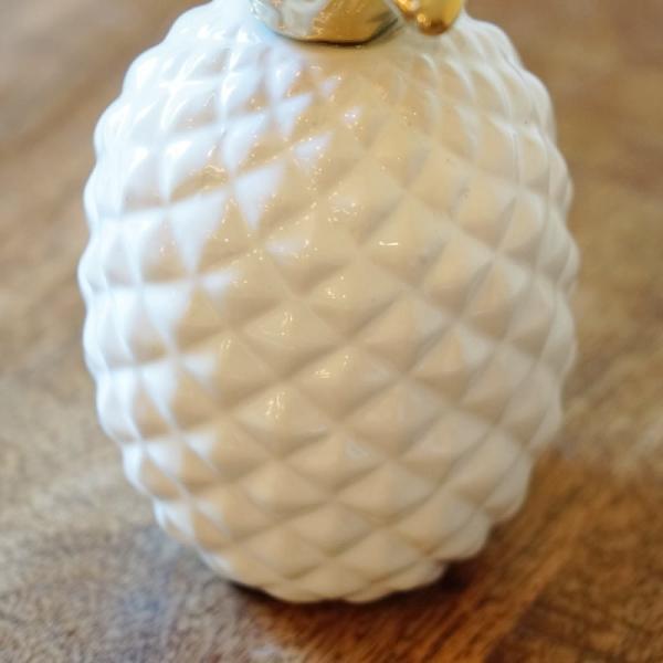 インテリア雑貨 パイナップルのオブジェ 置物 陶器製 おしゃれ雑貨|e-kirakukan|04