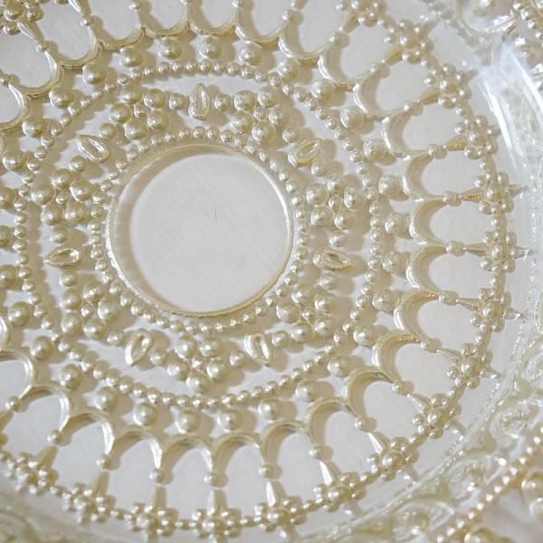 ガラス食器・ゴールドレース ケーキプレートS 皿 22cm トルコ製|e-kirakukan|03