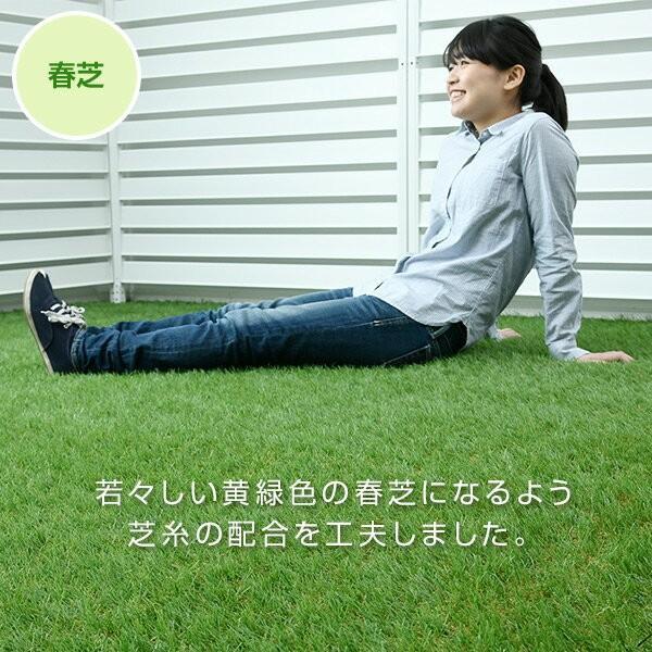 人工芝 芝生 ロール 1m×10m 芝生マット【あすつく】|e-kurashi|07
