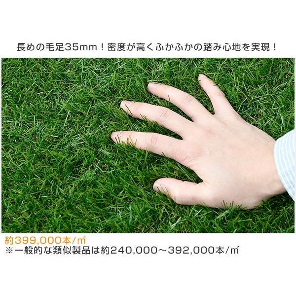人工芝 芝生 ロール 1m×10m 芝生マット【あすつく】|e-kurashi|08