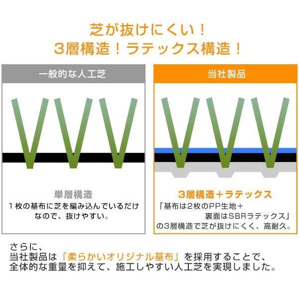 人工芝 芝生 ロール 1m×10m 芝生マット【あすつく】|e-kurashi|09