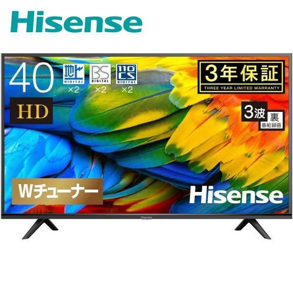 ハイセンス・ジャパン 43V型 液晶テレビ 43A50 ピアノブラックの画像