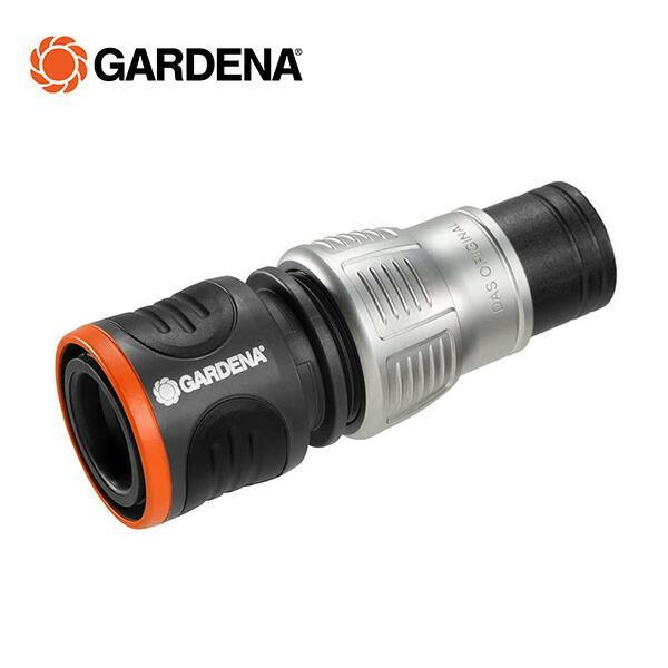 止水用コネクター 13mm(1/2)-15mm(5/8) プレミアム 18253-20 967666801 止水 ウォーターストップ 散水コネクター ガルデナ(GARDENA)