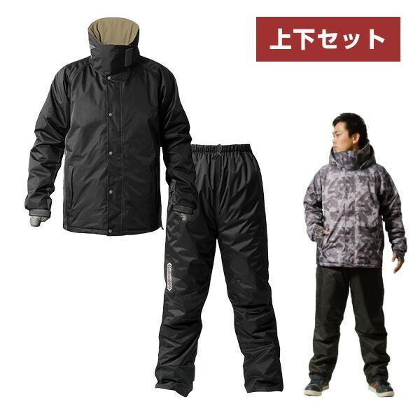防寒着上下セット防水極寒メンズ釣りAS-3110中綿ジャケットアウター防寒ジャケット防寒ジャンパー防寒ジャンバーMakkuマック